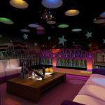 Cắt decal dán tường trang trí quán karaoke
