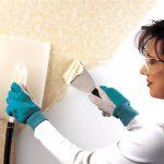 Quy trình tháo bỏ giấy dán tường